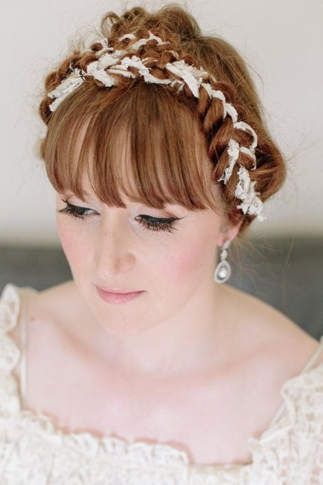 coiffure de mariee avec frange 10