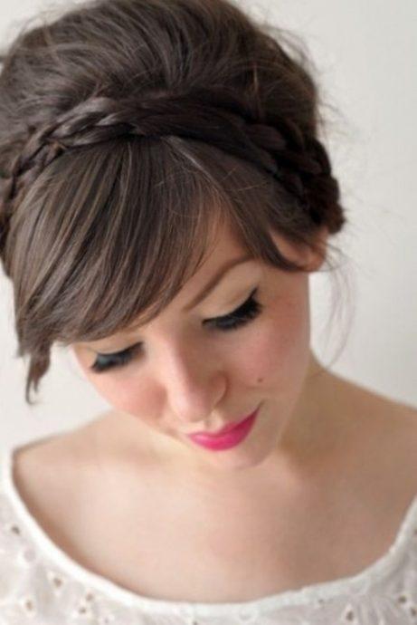 coiffure de mariee avec frange 3