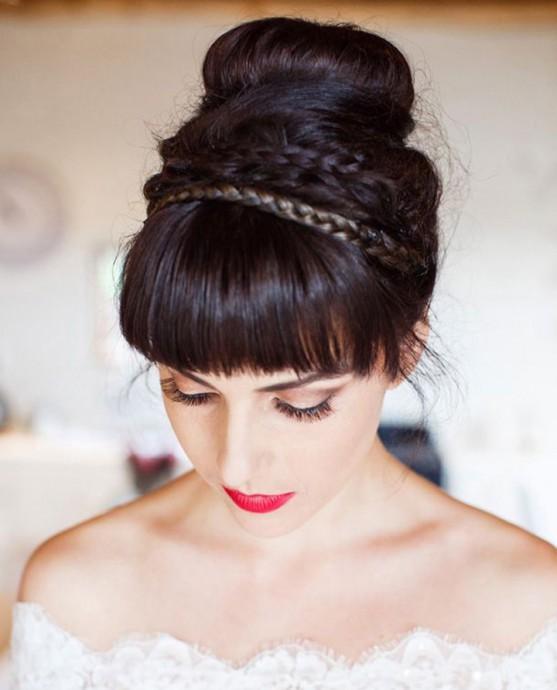 10 coiffures de mari e tendance pour celles qui portent la. Black Bedroom Furniture Sets. Home Design Ideas