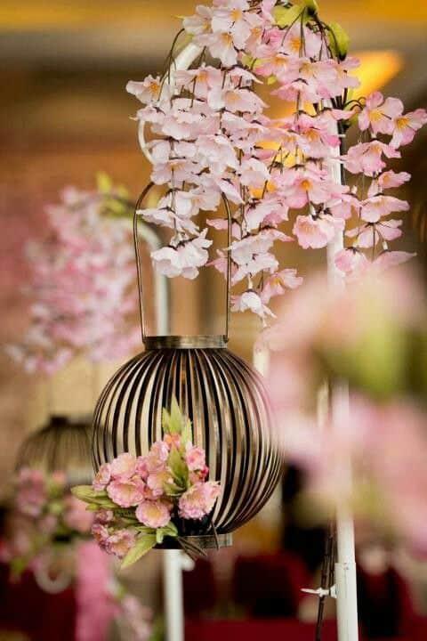 fleur de cerisier deco mariage