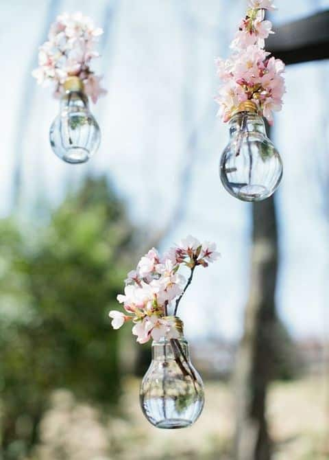 fleur de cerisier idee deco mariage