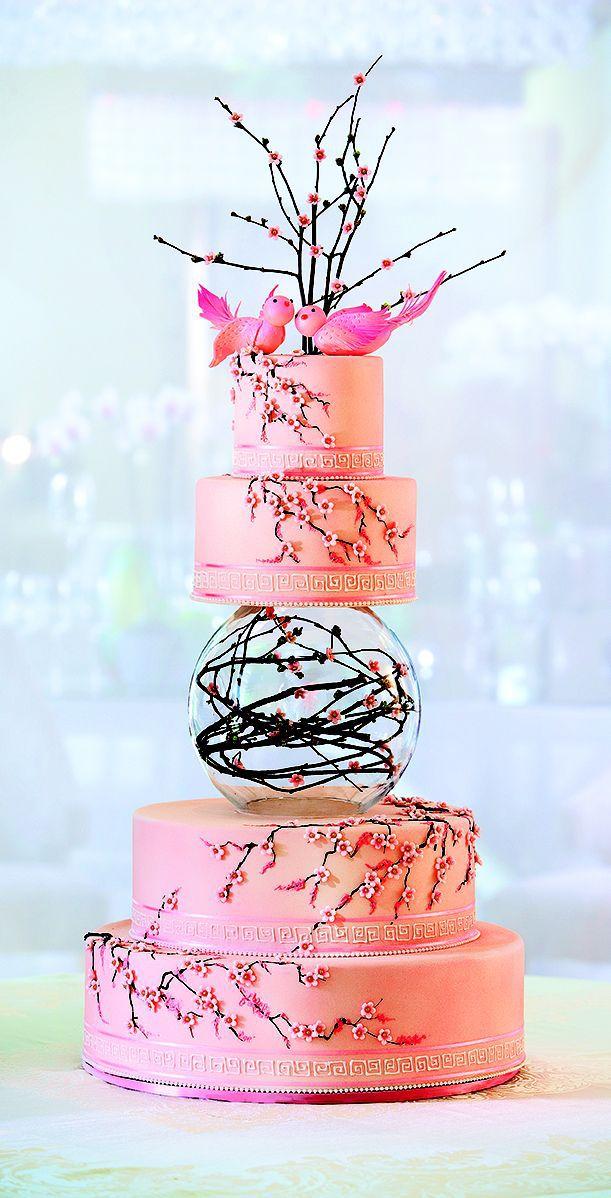 gateau mariage fleur de cerisier