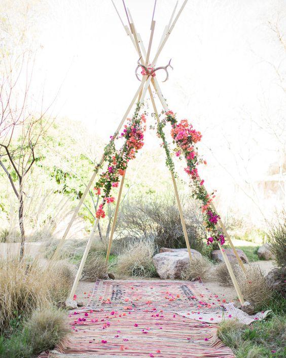 tendance hippie chic-mariage-tipy