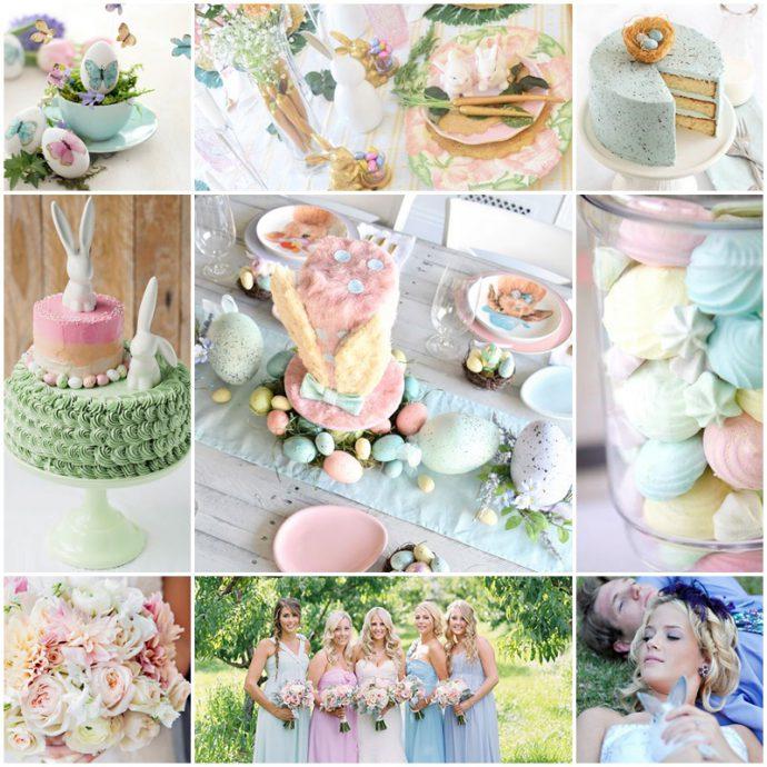 mariage-pâques-pastel-thème