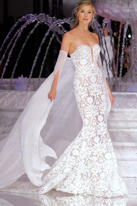 Pronovias 2018 - robe de mariée sirène