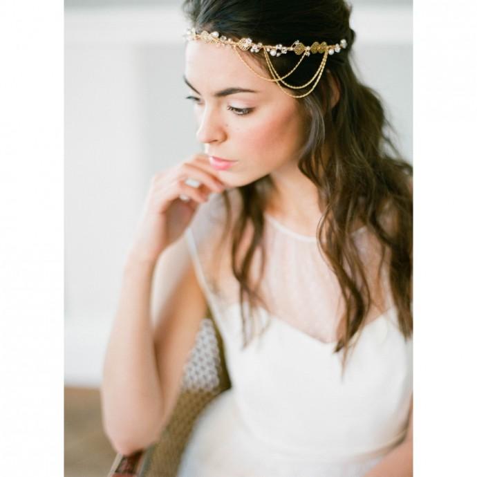 Halo de mariée bohème chic - Victoria