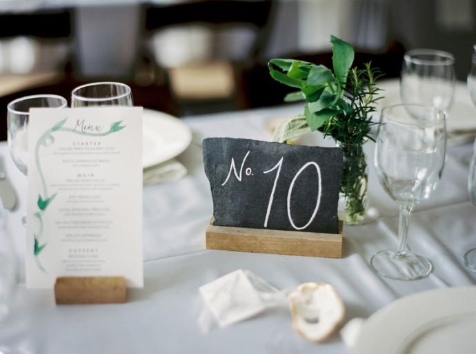 numero table ardoise
