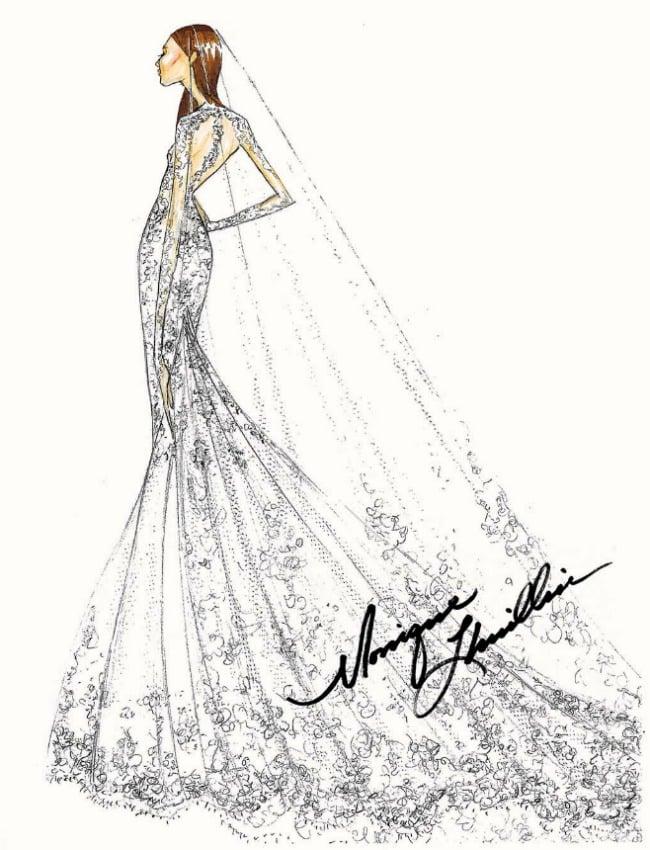 robe de mariée de pippa middleton selon monique lhullier