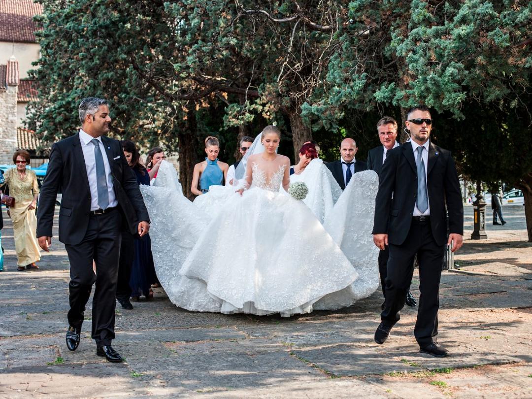 Victoria Swarowski wedding dress 2
