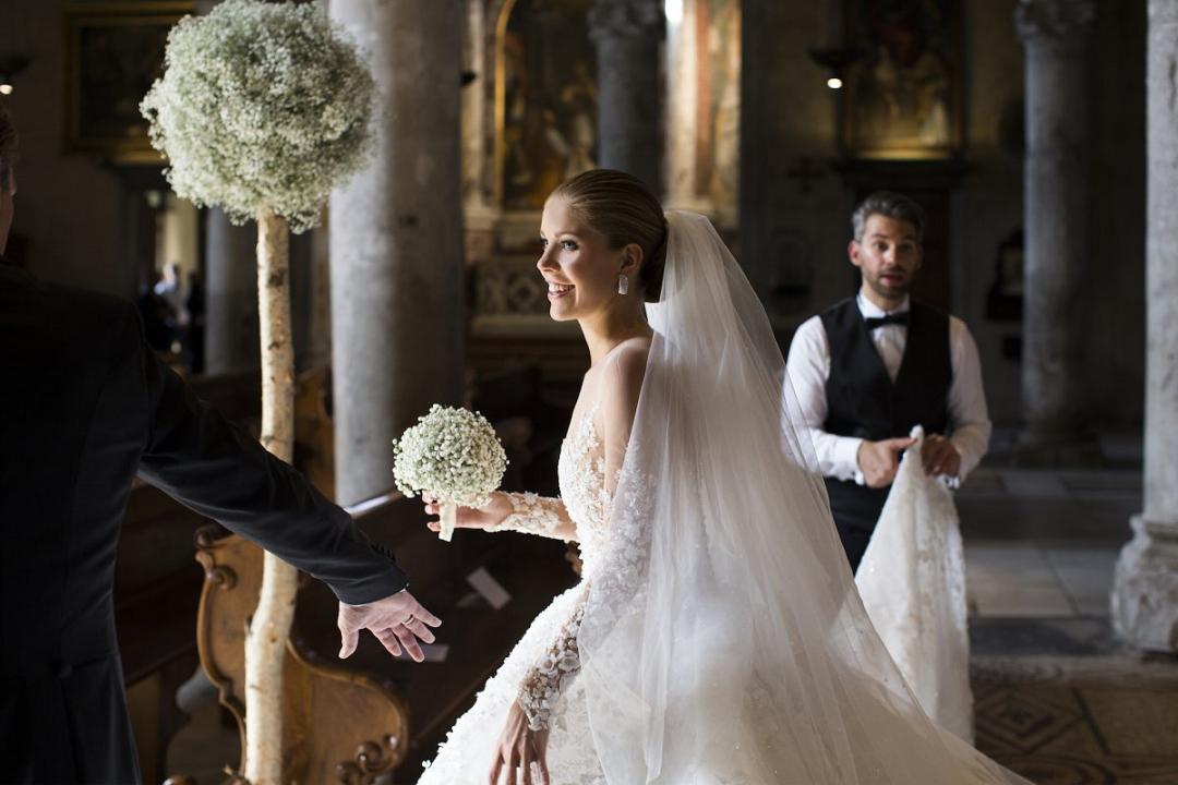 Victoria Swarowski wedding dress 3