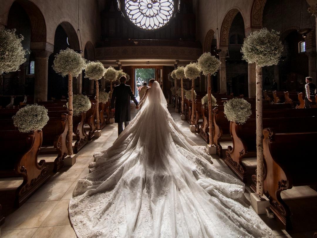 Victoria Swarowski wedding dress 4