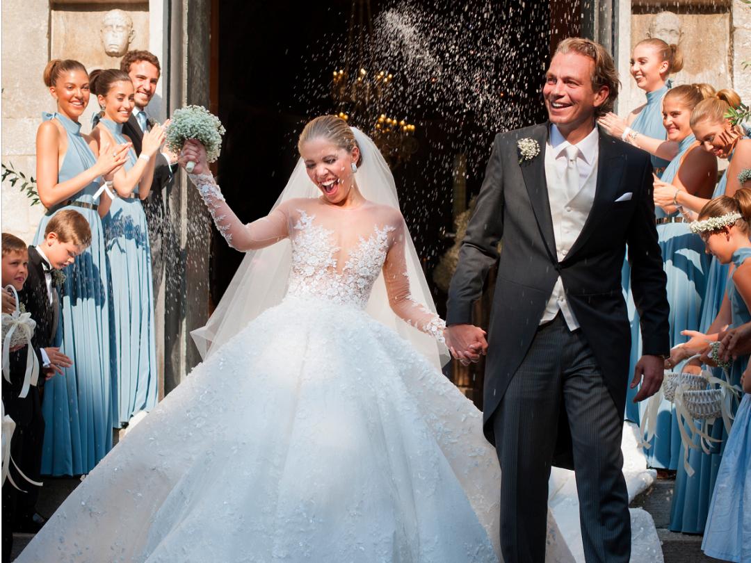 Victoria Swarowski wedding dress