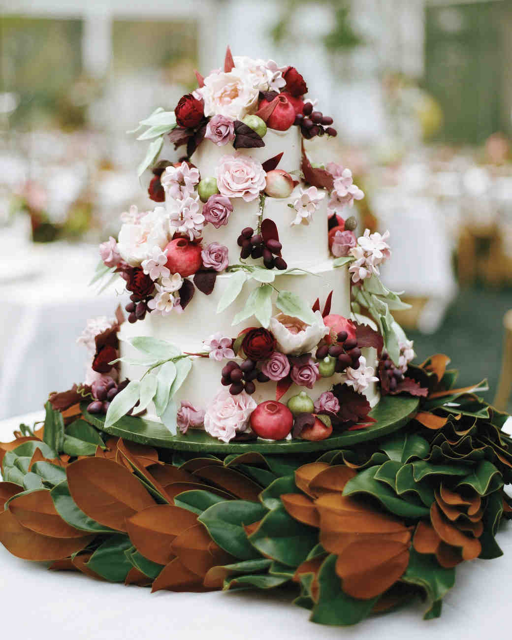 Wedding cake automne 2