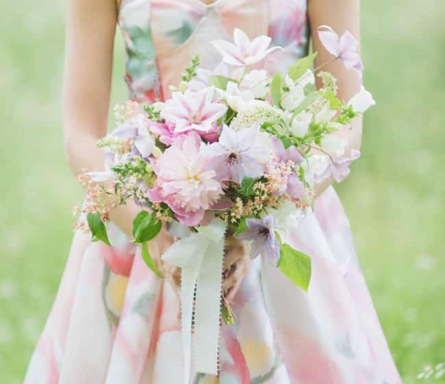 bouquet asymetrique 7