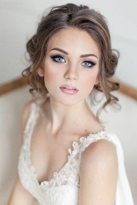 maquillage mariée irisé