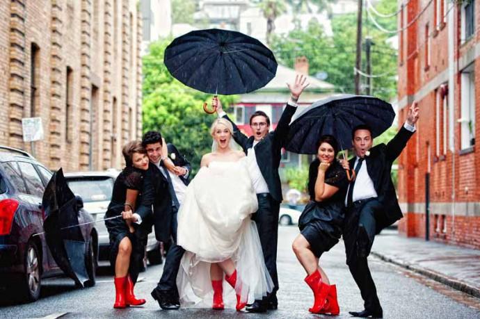 mariage sous leau
