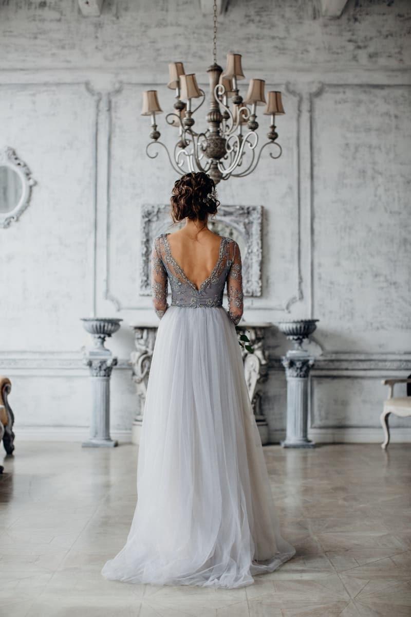 Mariage thème Argenté et Gris 16