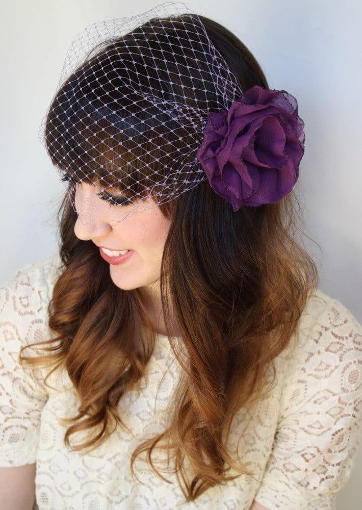 Mariage thème violet 23