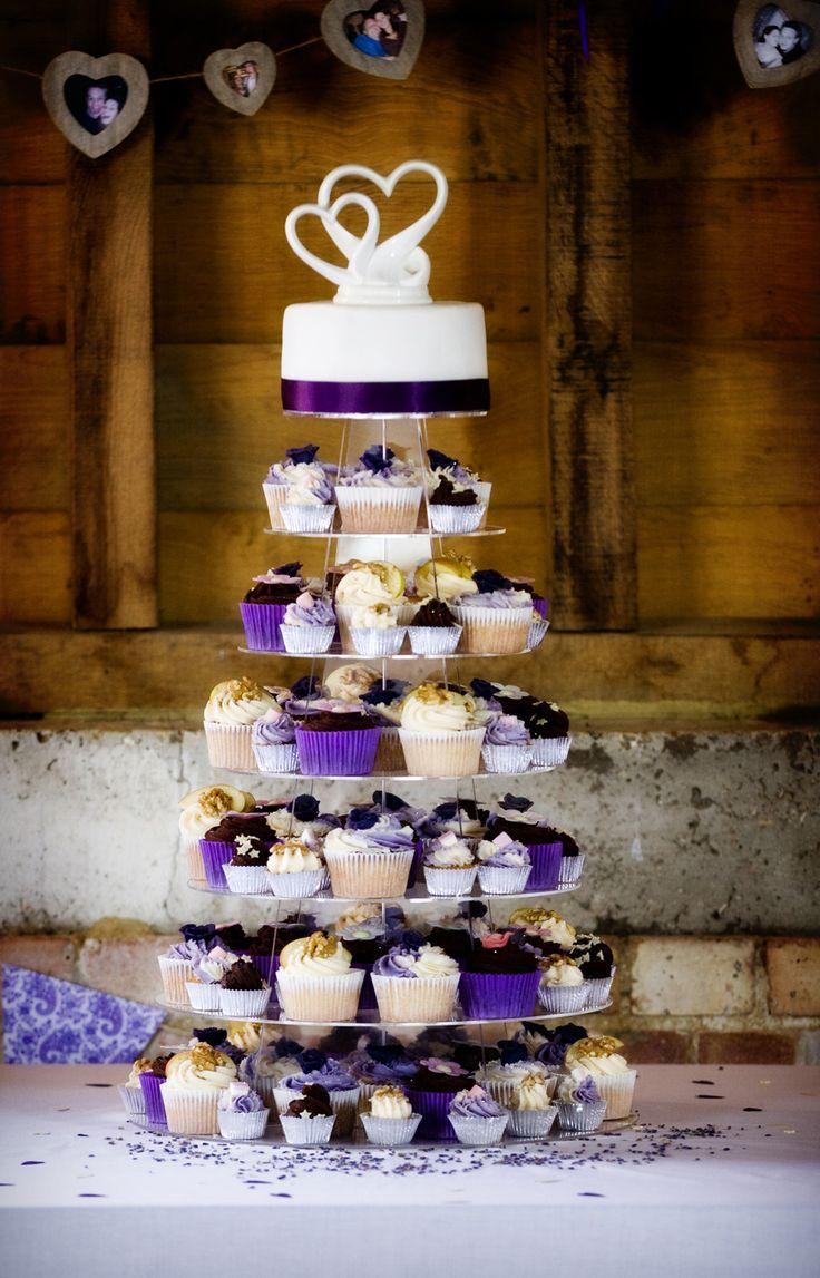Mariage thème violet 27