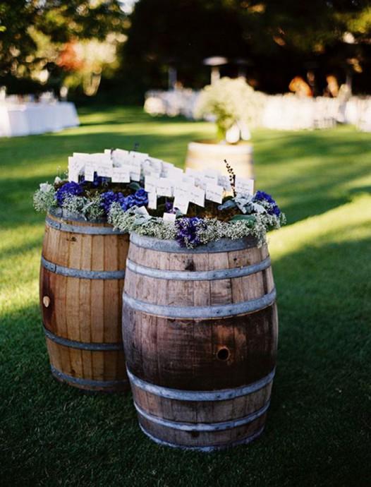 tonneau decoration mariage