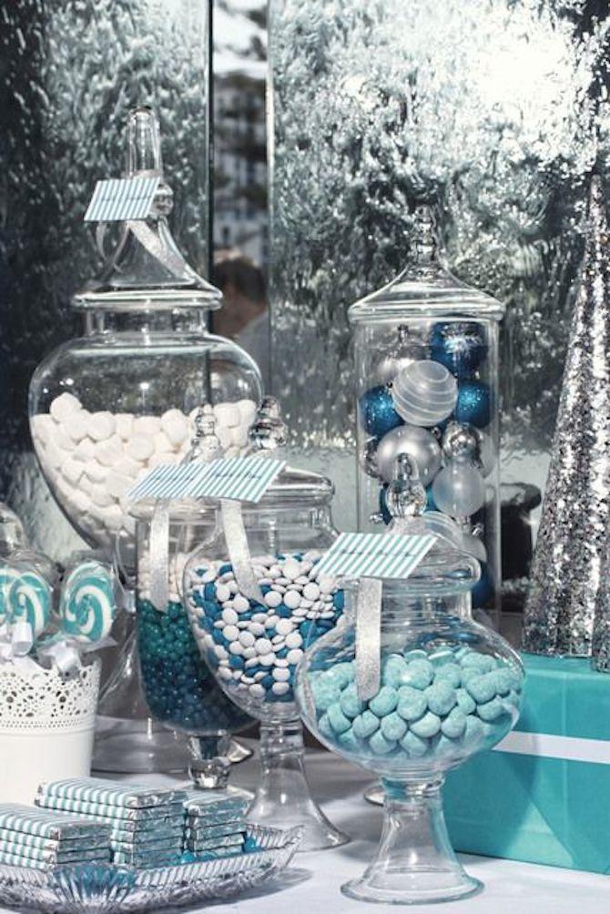 Mariage thème Turquoise & Argenté 10