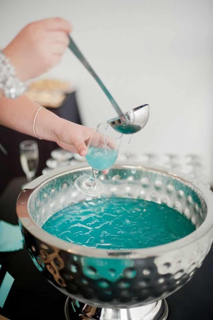 Mariage thème Turquoise & Argenté 11
