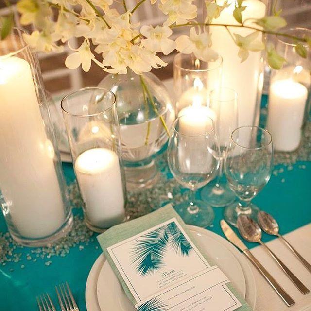 Mariage thème Turquoise & Argenté 16