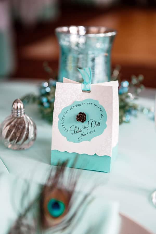 Mariage thème Turquoise & Argenté 4