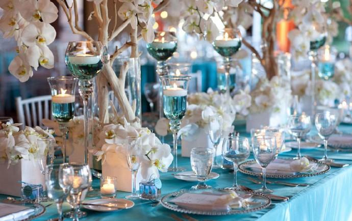 Mariage thème Turquoise & Argenté 9