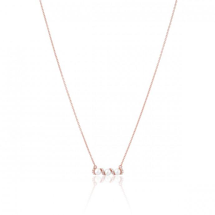 Collier PERLE DE NUIT Argent 925/1000 Perle