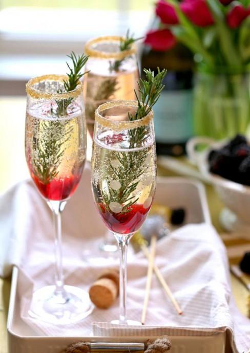 cocktails au champagne mariage (7)