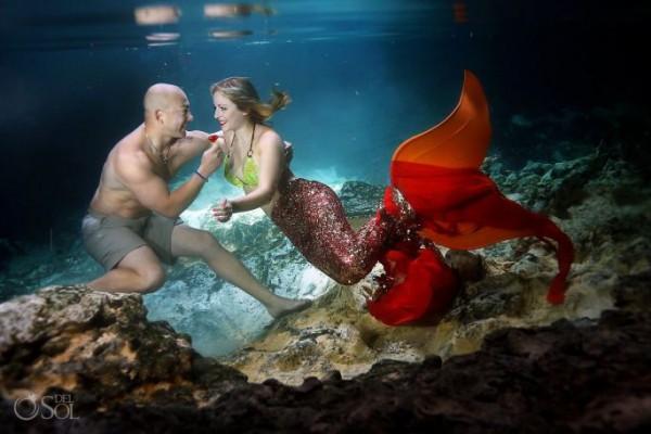 demande en mariage sous l'eau 4
