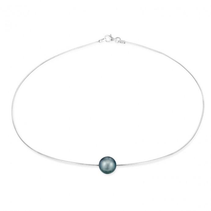 Collier Perles de culture de Tahiti en Argent