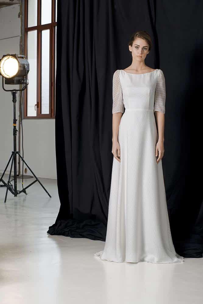 11 robes de mari e tendance 2018 pour dire oui lors d 39 une for Robes de mariage pour l hiver 2017