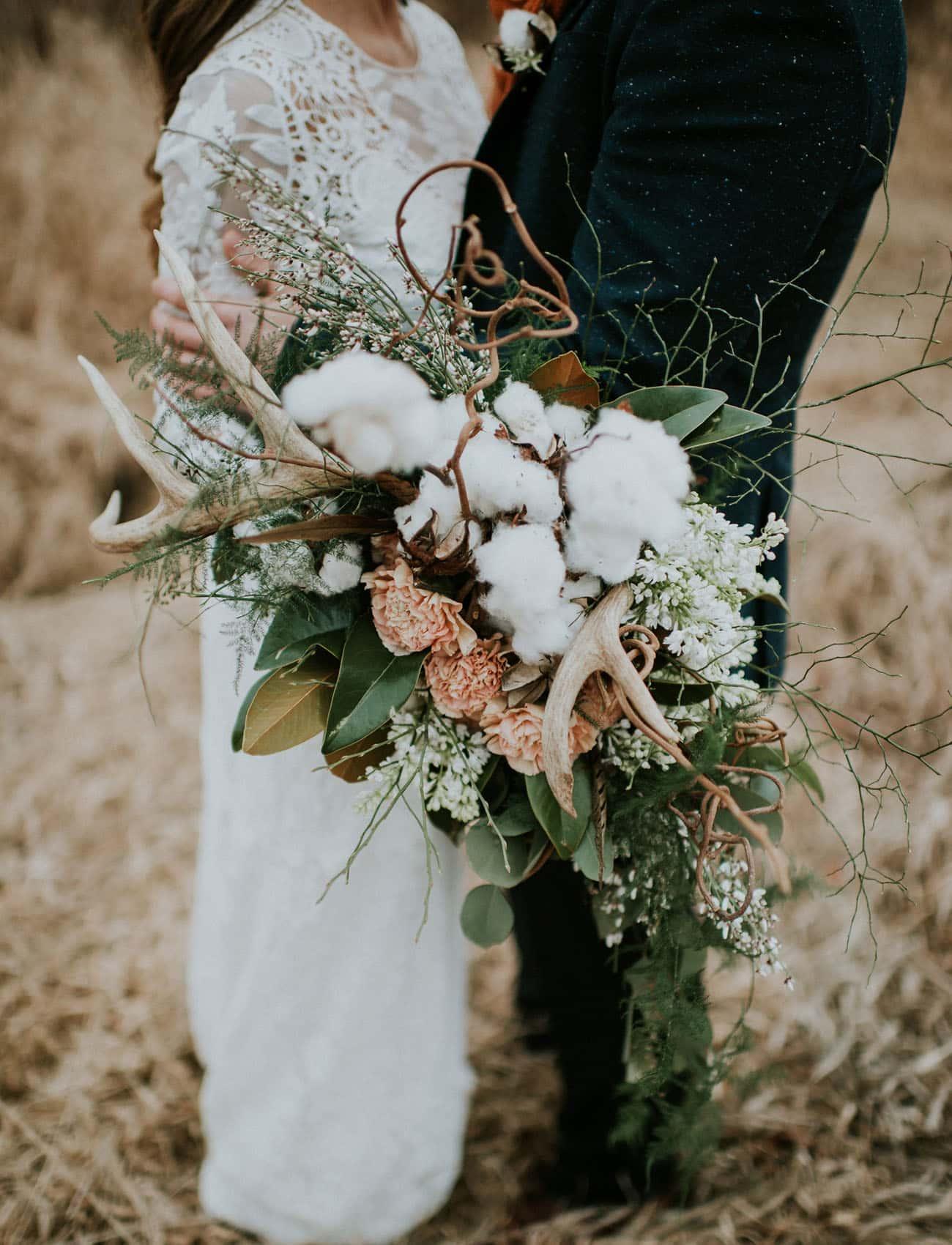 Mariage boheme et naturel au coeur de l'hiver 3