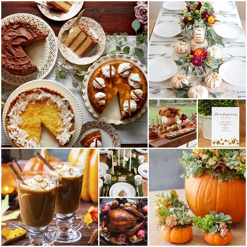 Moodboard Thanksgiving