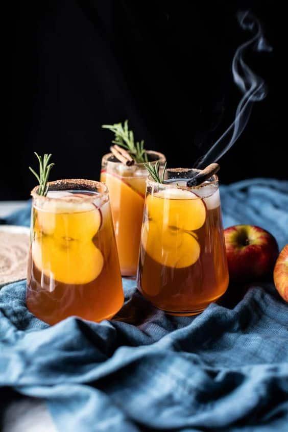 margarita-vin d'honneur-mariage-pommes