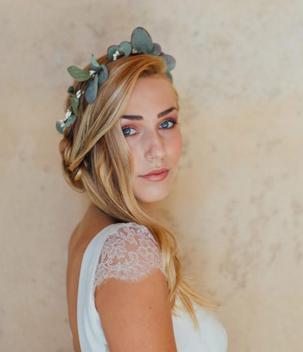 accessoire-nature et romantique-mariée-mariage-garden
