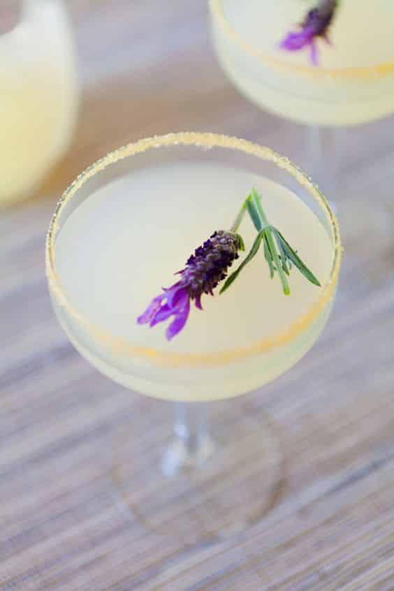 cocktail de mariage au prosecco-bellini