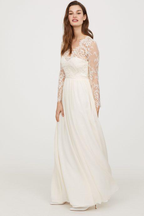 La robe de mariée de Kate Middleton devient accessible grâce à la jolie réplique de H&M ...