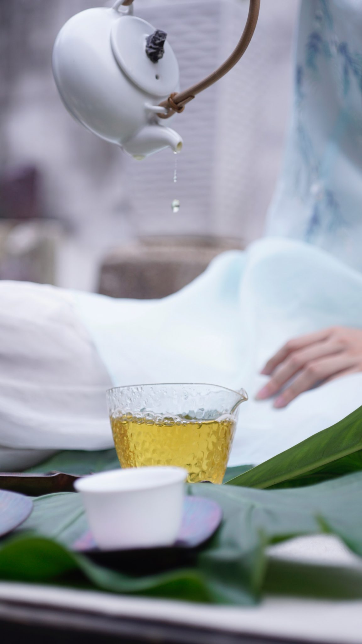 boissons anti-stress-mariage-thé vert