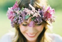 10 coiffures champêtres pour se transformer en mariée bucolique