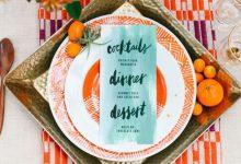 10 idées de vaisselle colorées pour barioler sa décoration de mariage