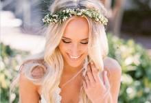 10 coiffures de mariée qui vous feront succomber à la couronne de fleurs