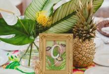 10 inspirations exotiques pour numéroter vos tables de mariage