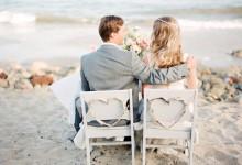 10 jolies inspirations pour décorer un mariage à la plage