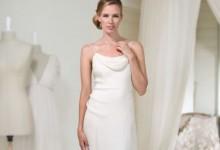 10 élégantes robes de mariée à coupe droite tendance 2017