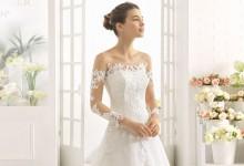 10 robes de mariée tendance 2017 qui jouent le jeu de la transparence romantique