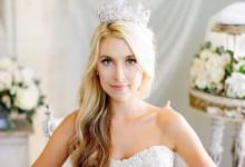10 tiares de princesse pour couronner avec grâce votre coiffure de mariée