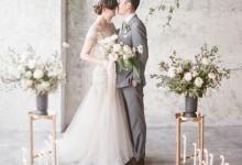 6 manières inspirantes et modernes de mettre en scène un mariage industriel et fleuri